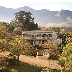 Schoone Oordt Country House Garden Route 1