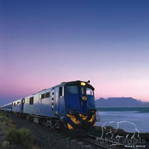 The Blue Train, Journeys by Train