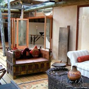 Trogon House and Forest Spa Garden Route 3